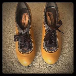 Poetic License Mustard Backlash Heel